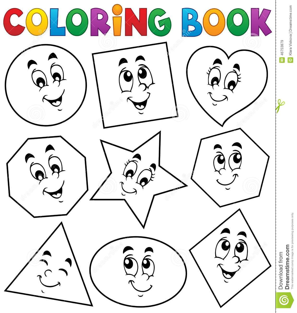 Coloring Shapes Stock Illustrations 4 013 Coloring Shapes Stock Illustrations Vectors Clipart Dreamstime