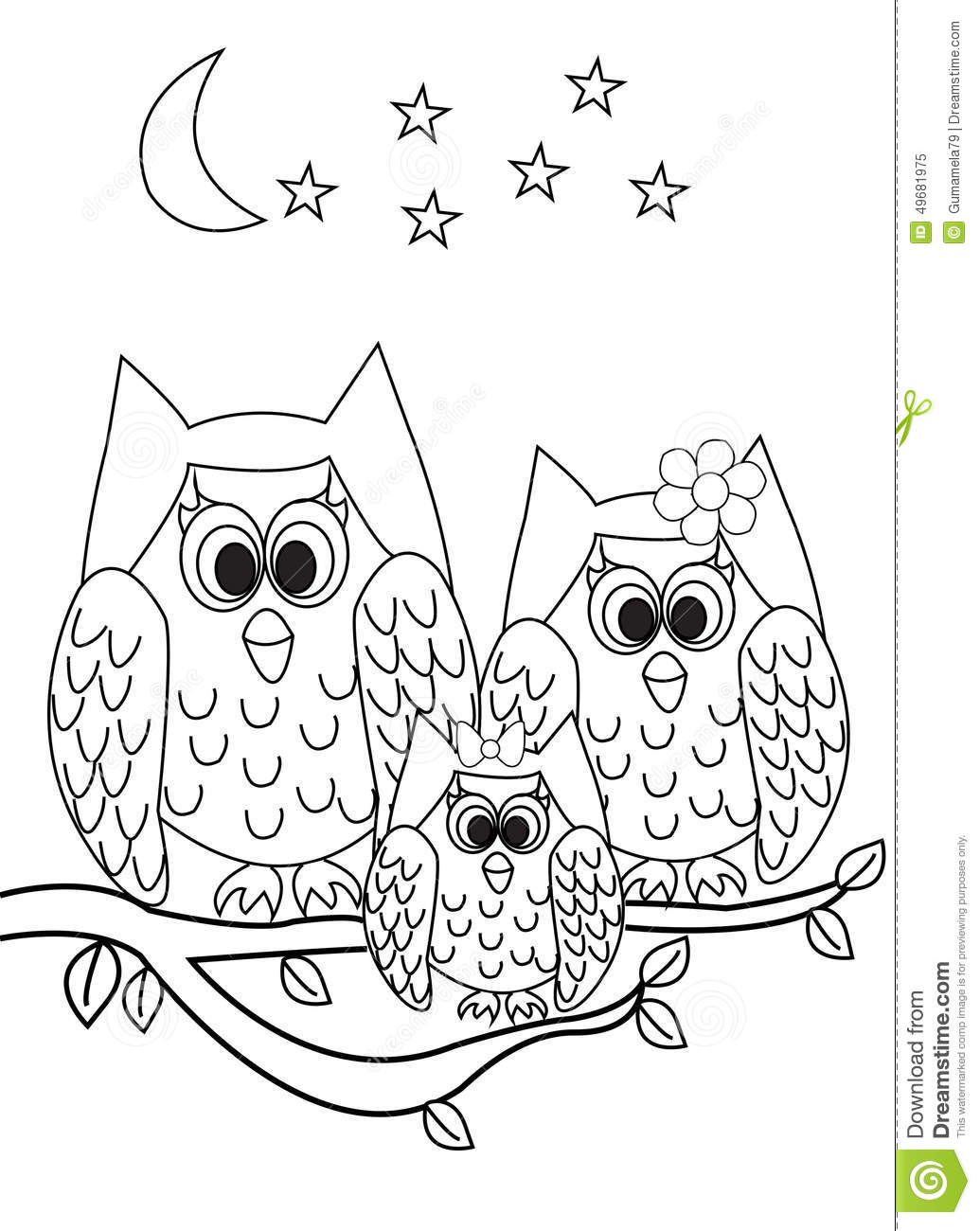 Owl Worksheet For First Grade