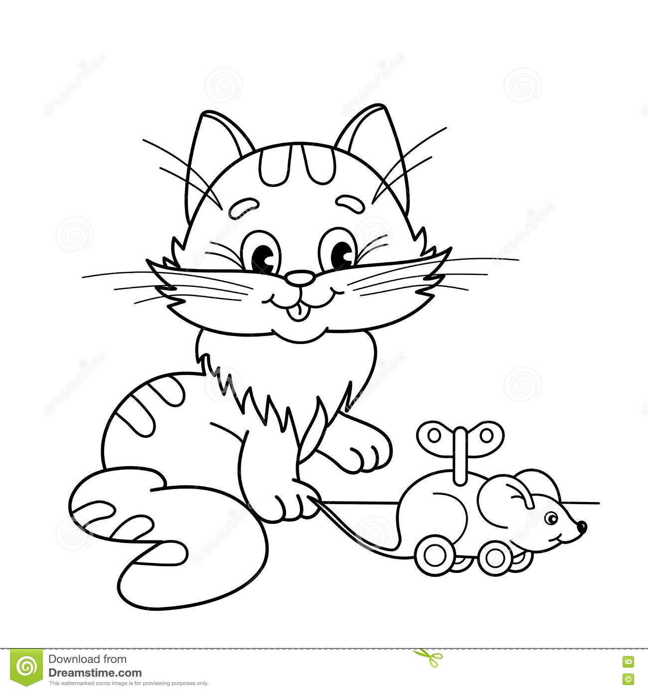 Cat And Mouse Coloring Pages Coloring Pages