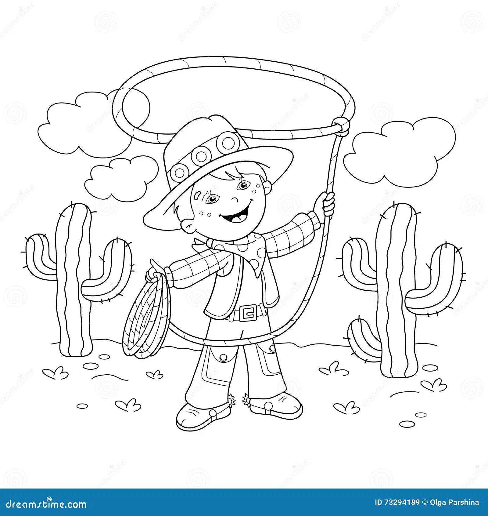 Cowboy Cartoon Cartoon Vector