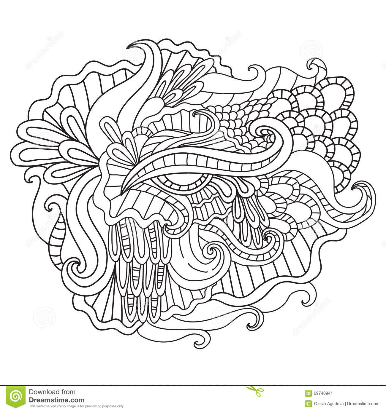 The Curl Of Nature Royalty-Free Stock Photo