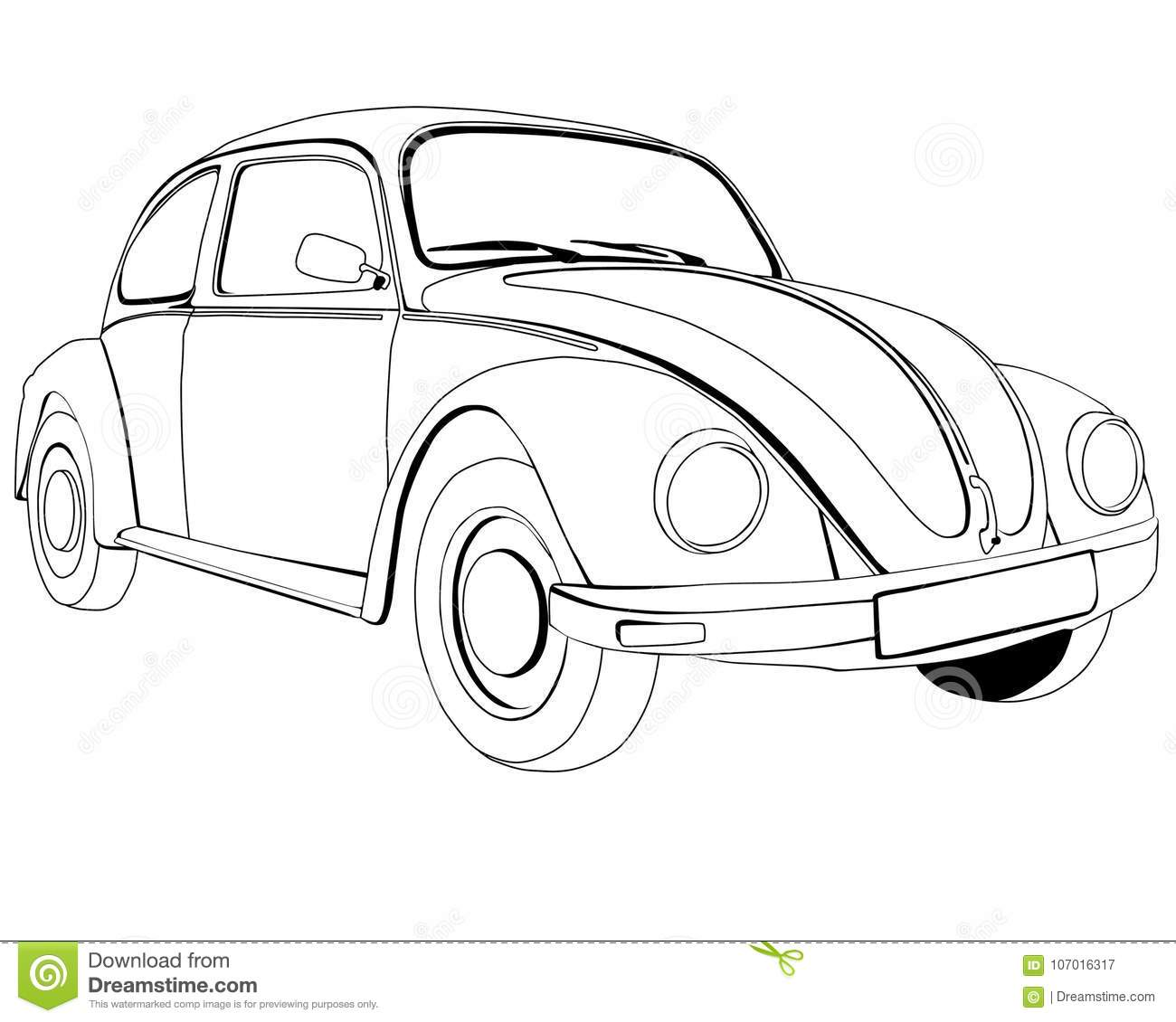 Volkswagen Cartoons, Illustrations & Vector Stock Images