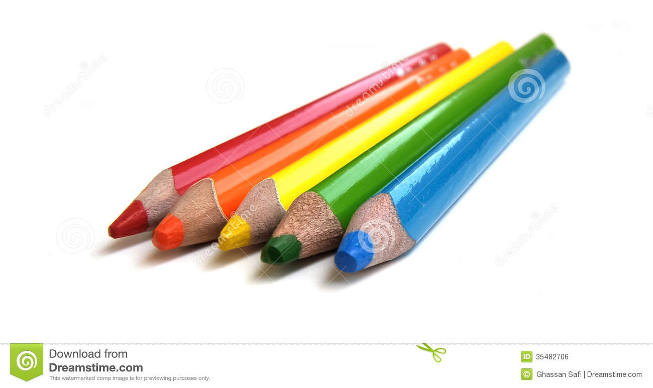 Coloring Pencils Stock Photo Image Of Wood Drawing
