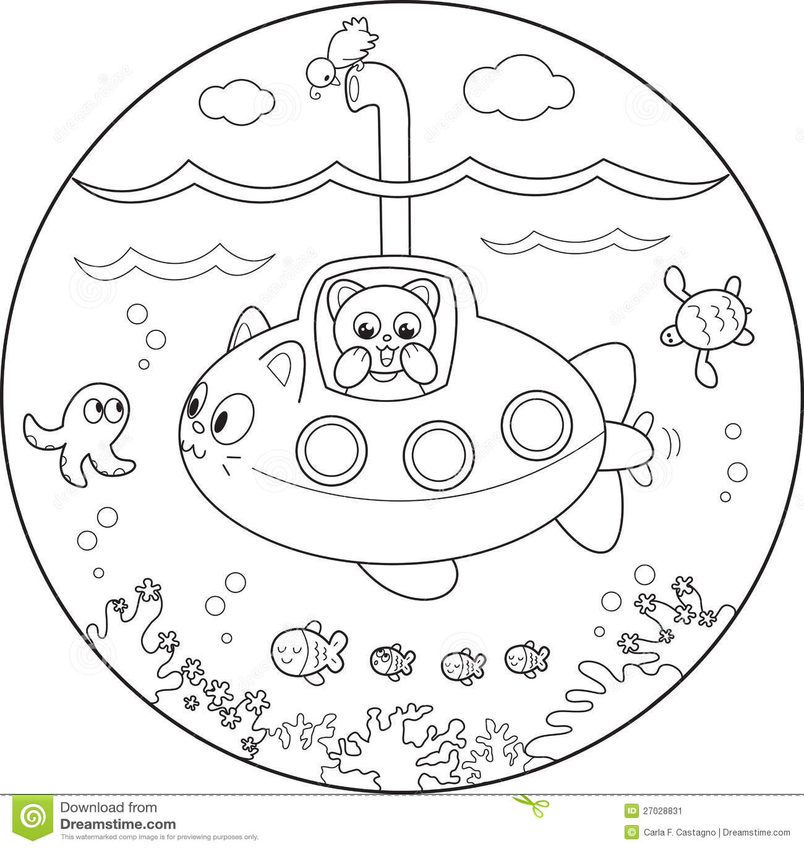 Cartoon Yellow Submarine John | Wiring Diagram Database