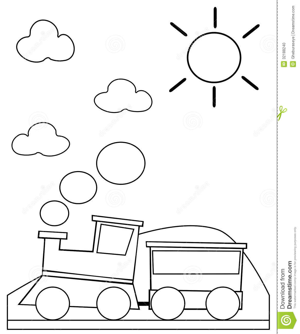 Smoke Coloring Pages