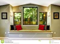 Comfort Sitting Area By The Window Stock Photo