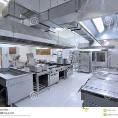 Kitchen Equipment Repair Counter Bar Commercial Stock Photo Image Of Nobody Catering