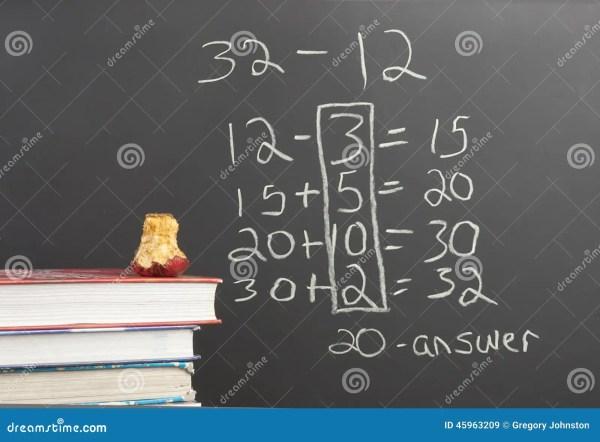 Common Core Math. Stock - 45963209
