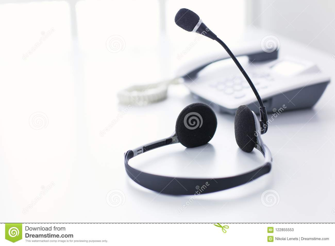 Communication Support Call Center And Customer Service