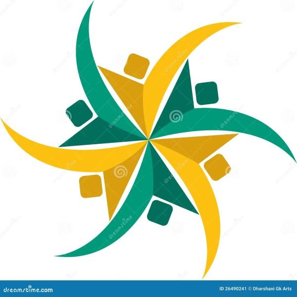 Community Logo Stock - 26490241