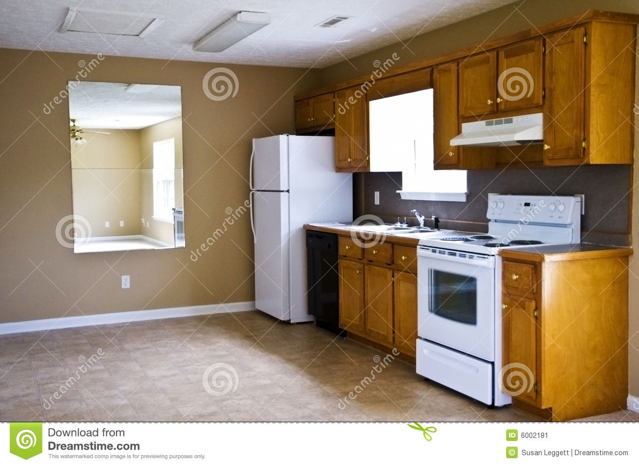 Compact KitchenSmall House Stock Image  Image of ceiling little 6002181