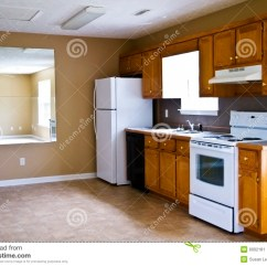 Refrigerator For Small Kitchen Rustic Hardware Compact Kitchen/small House Stock Image - Image: 6002181