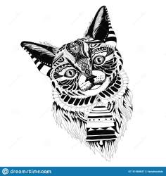 clipart cat complex playful well vector simple drawing