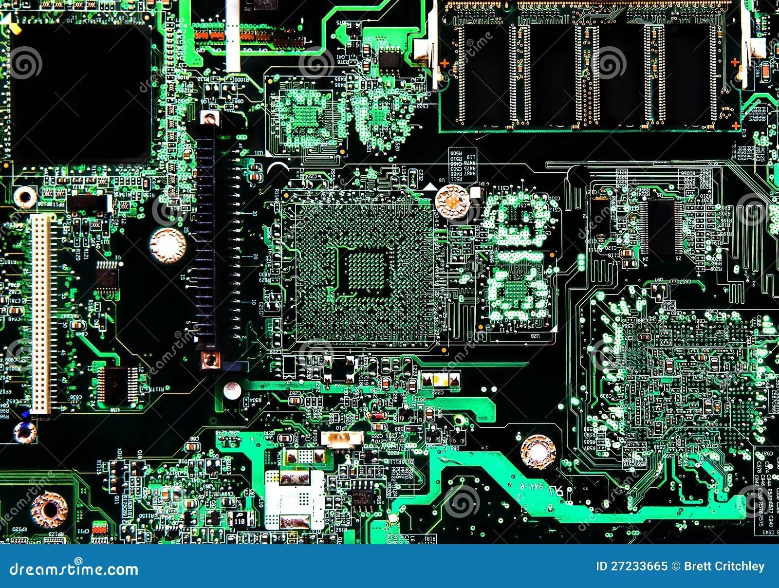 Computer Circuit Board Seamless Pattern Stock Image Image 18573311