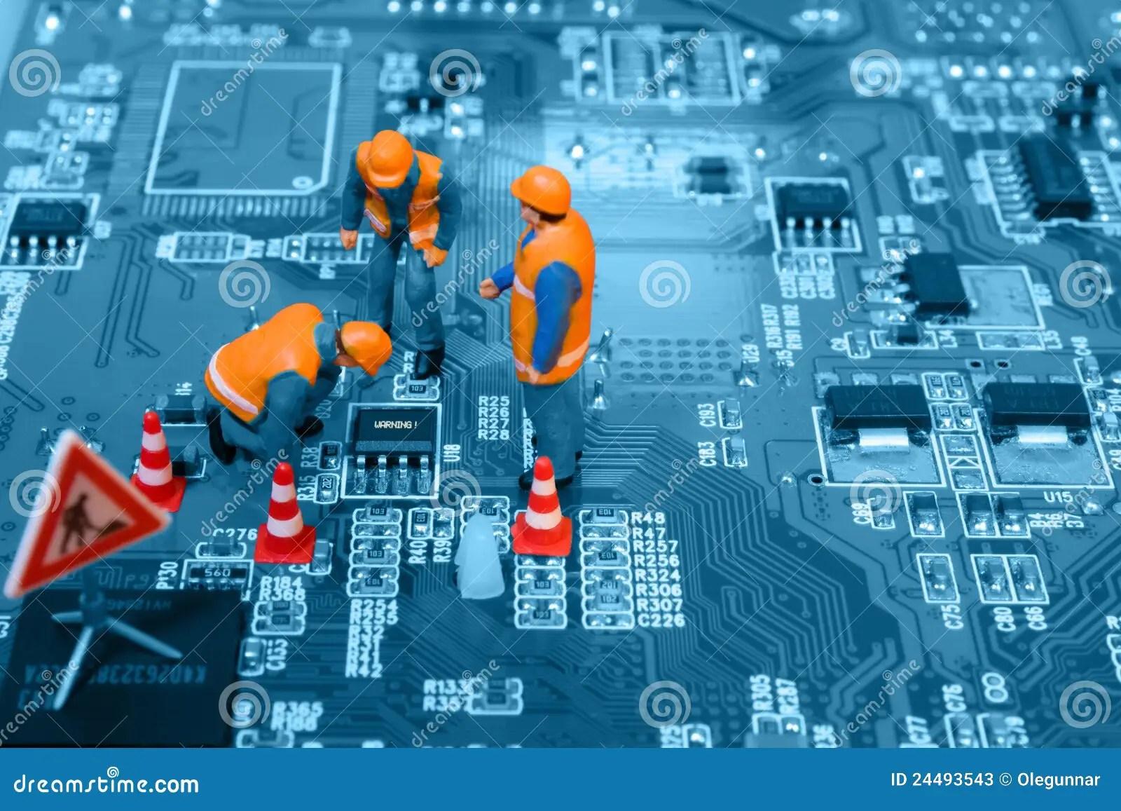 Computer Repair Concept Stock Photos  Image 24493543