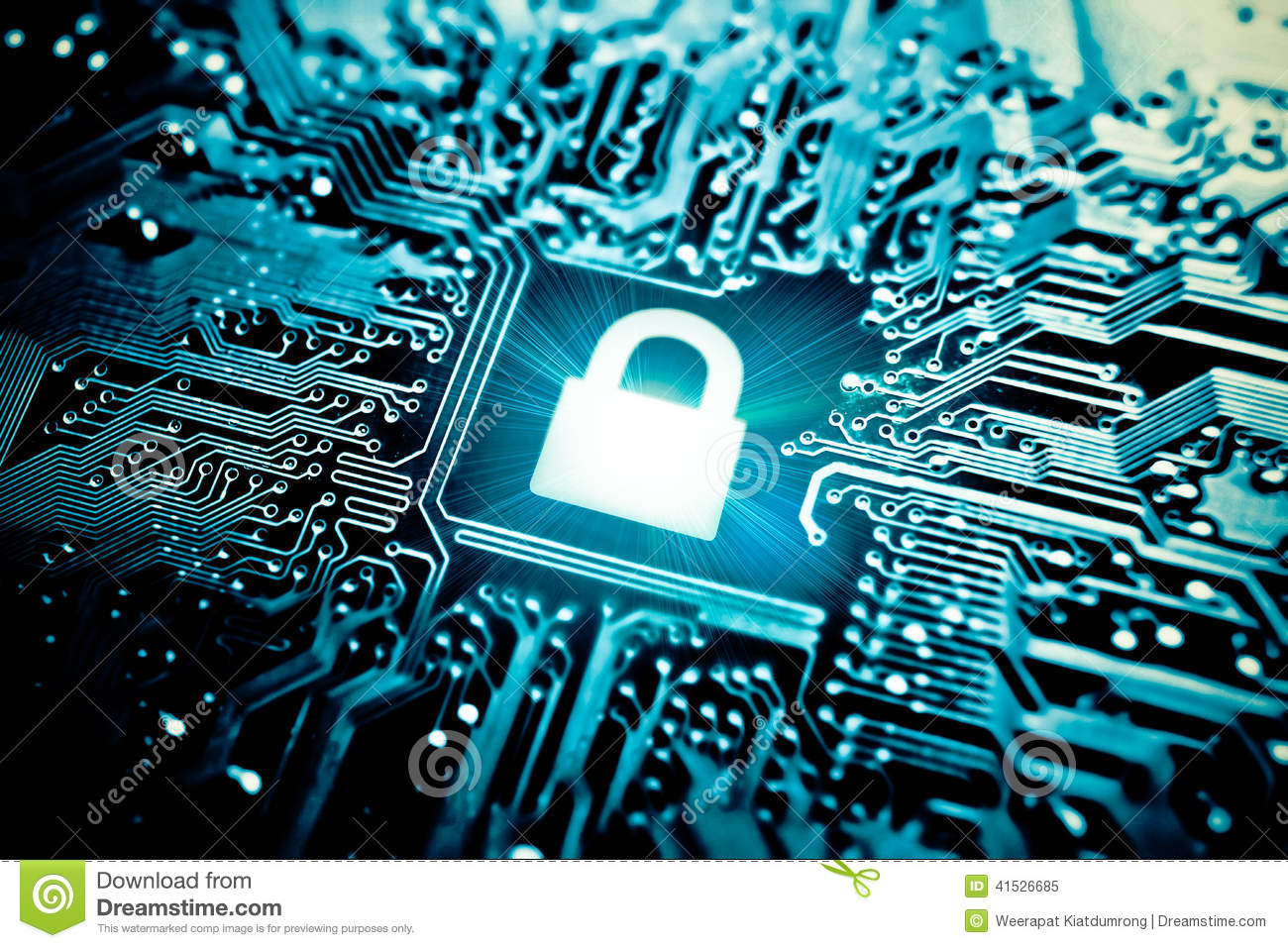 Computer Security Stock Photo  Image 41526685