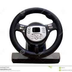 Steering Wheel Pc Global Wind Belts Diagram Computer Royalty Free Stock Photography