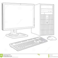 Draw A Block Diagram Of Computer System Wiring For Light Switch And Outlet Stock Images Image 31595424