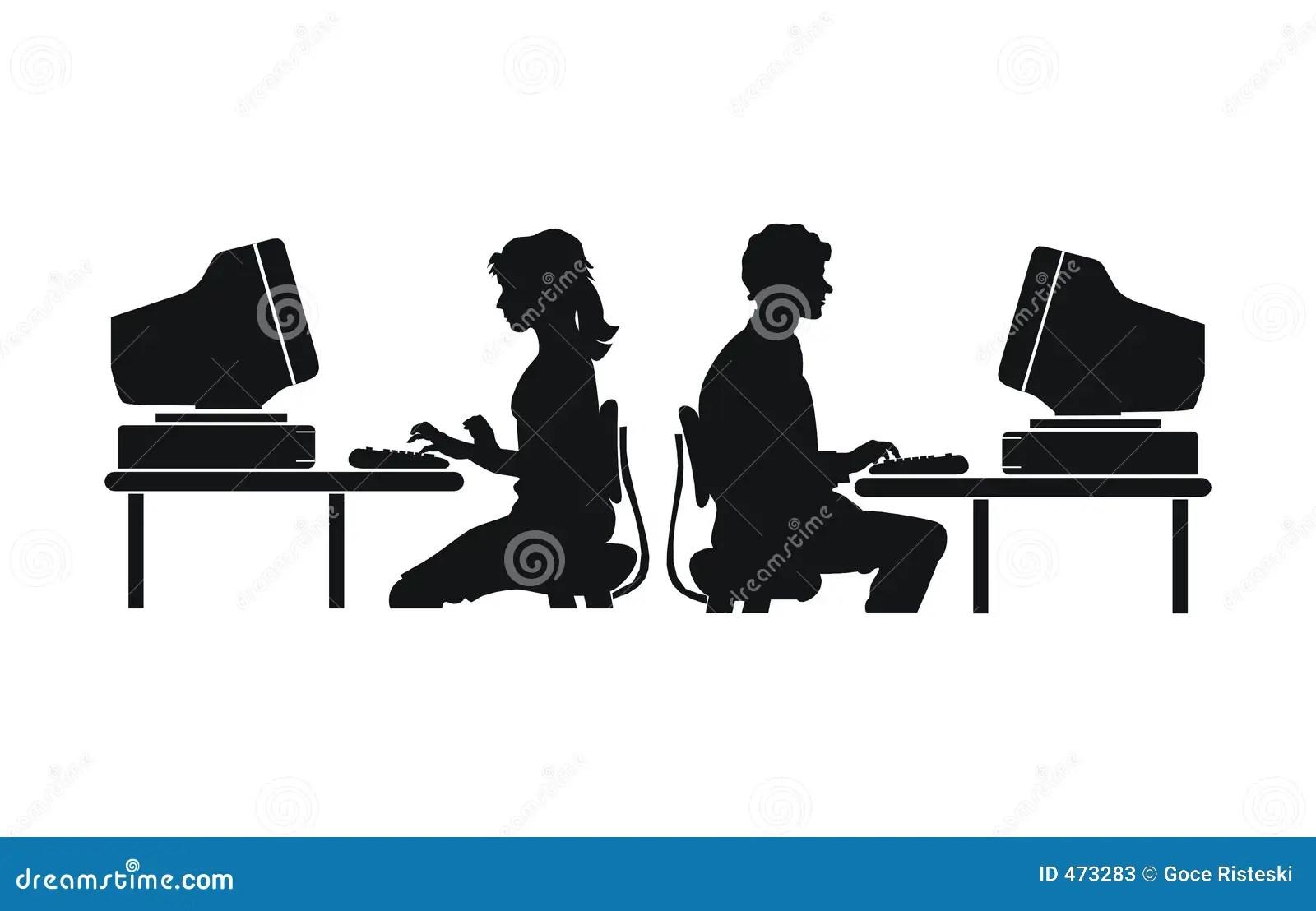 Computer Work Stock Photos