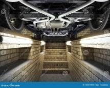 Concept Of Car Service View Pit