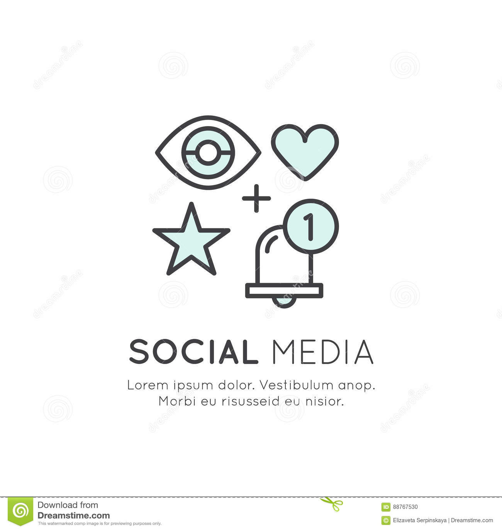 Concept Of Like Appreciation Symbol Thumb Up Like Share