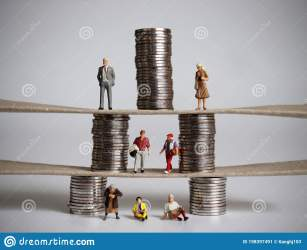 The Concept Of Pyramid Of Social Class Stock Image Image of lower financial: 198397491
