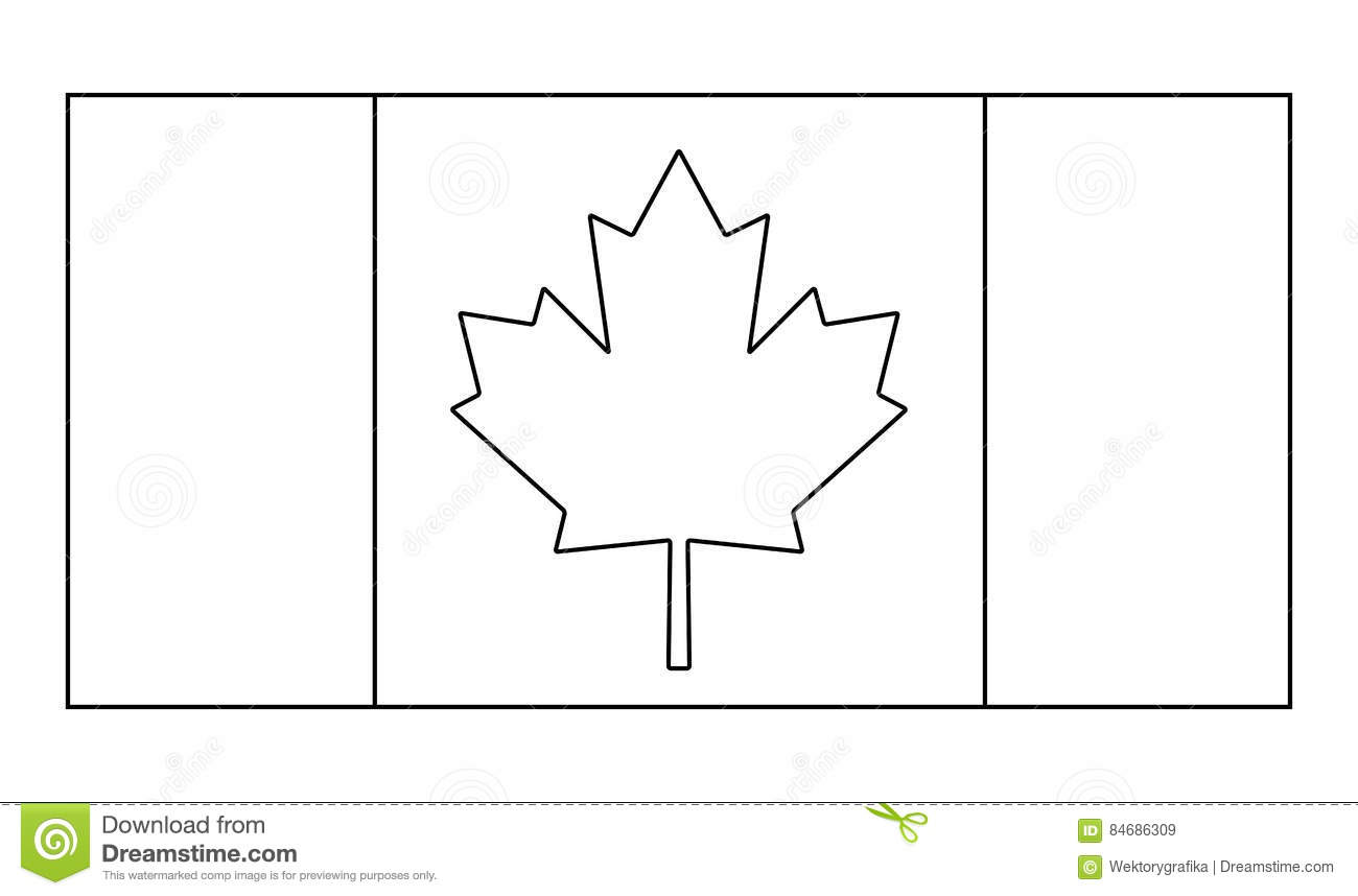 Conception D Icone De Symbole De Vecteur D Ensemble De D Au De Canada Illustration De Vecteur