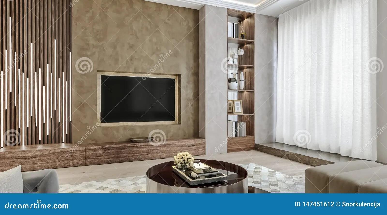 angles vers le haut de vue de mur de tv