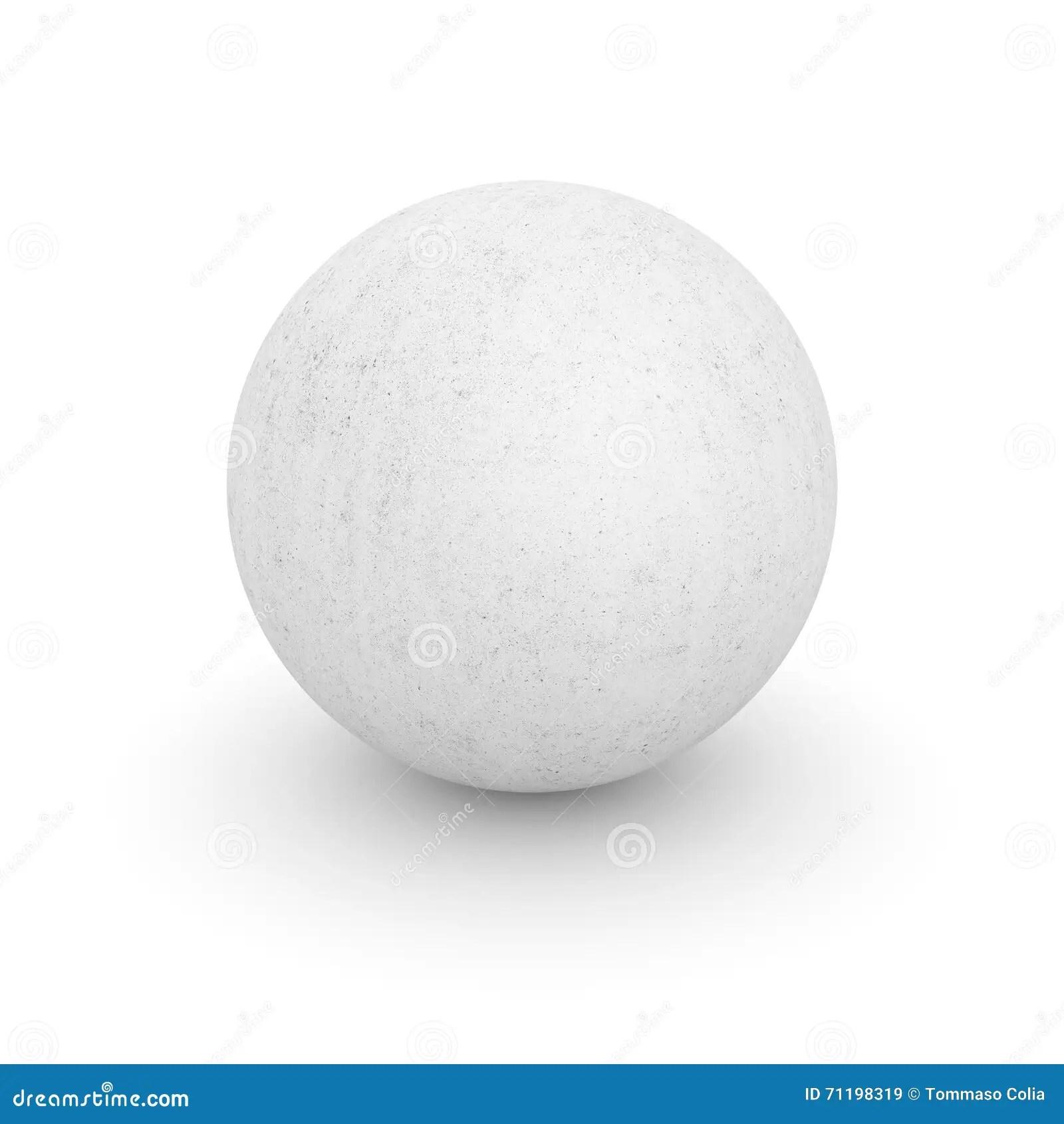 concrete sphere illustration 71198319