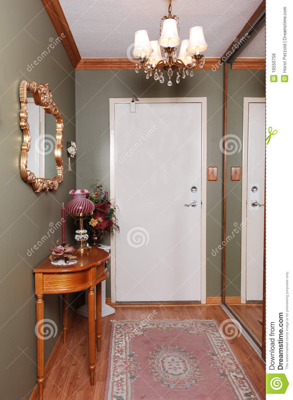 Condo entrance stock photo Image of door entry wall