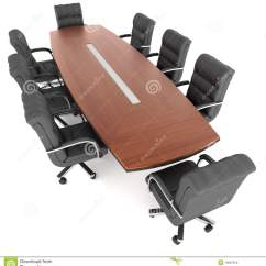 Conference Tables And Chairs How To Make A Slipcover For Chair Table Office Stock Photo Image
