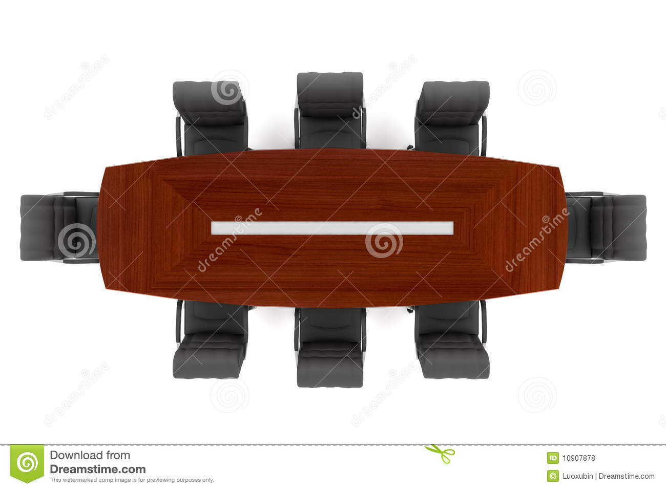sell office chairs cabriole leg dining conference table and royalty free stock photos - image: 10907878