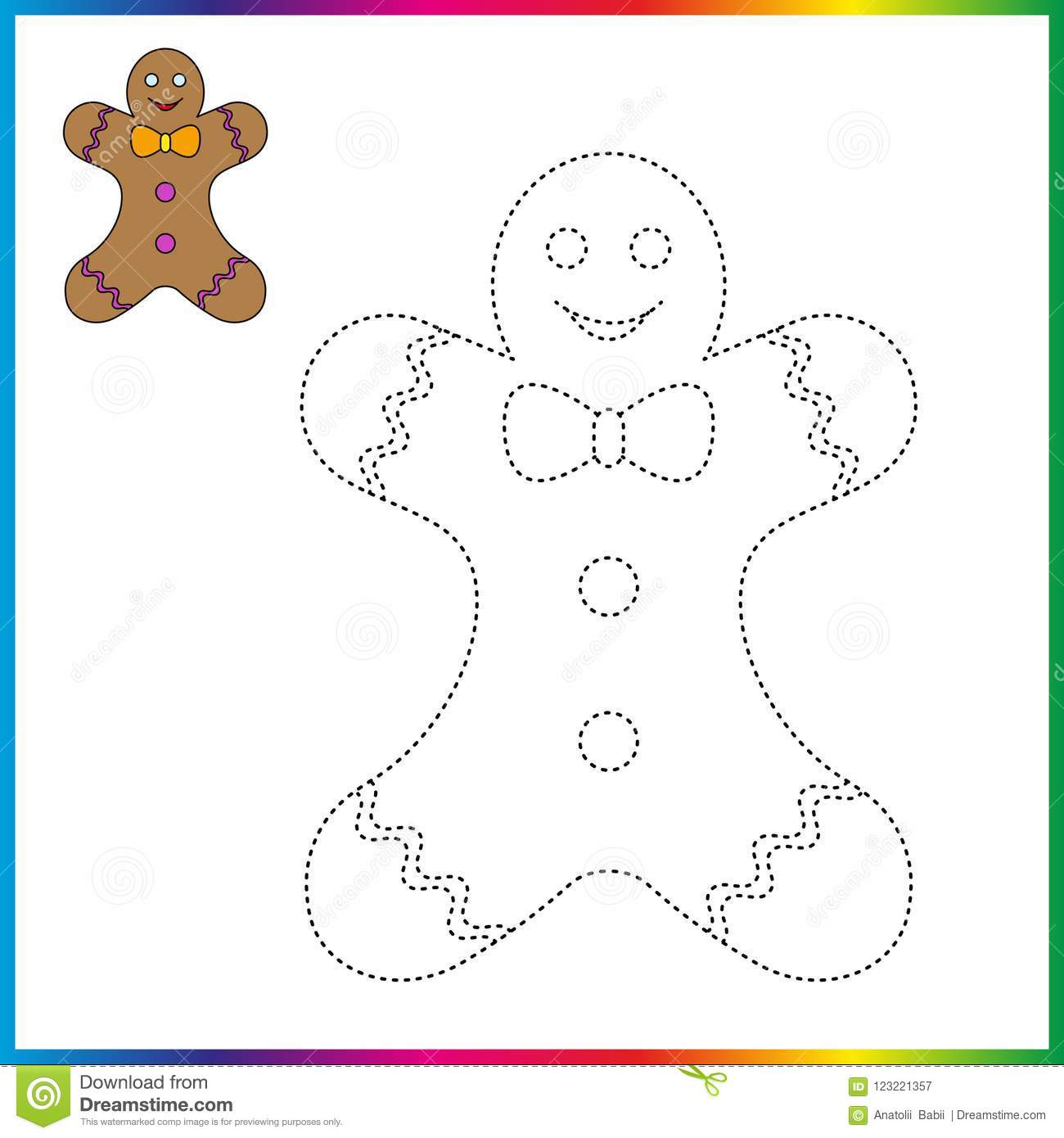 Connect The Dots And Coloring Page Worksheet