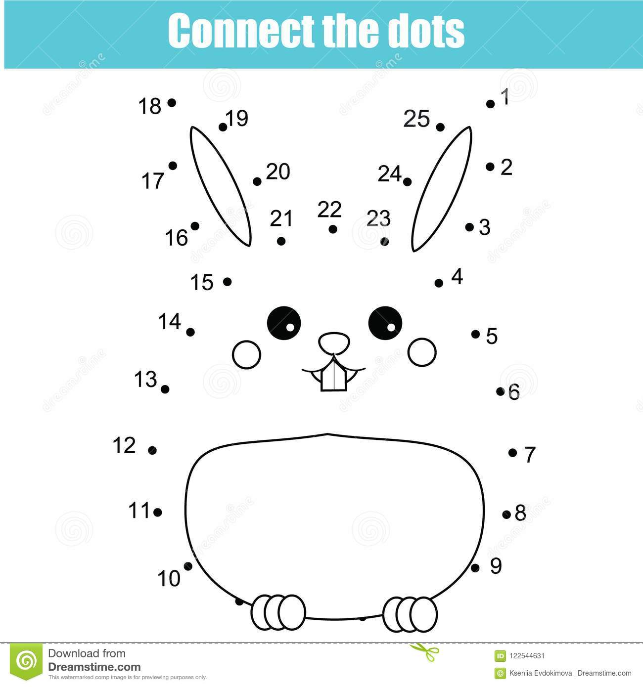 Bunny Worksheet
