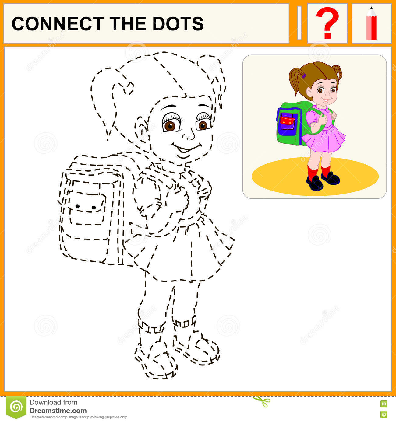 23 Connect The Dots Stock Vector
