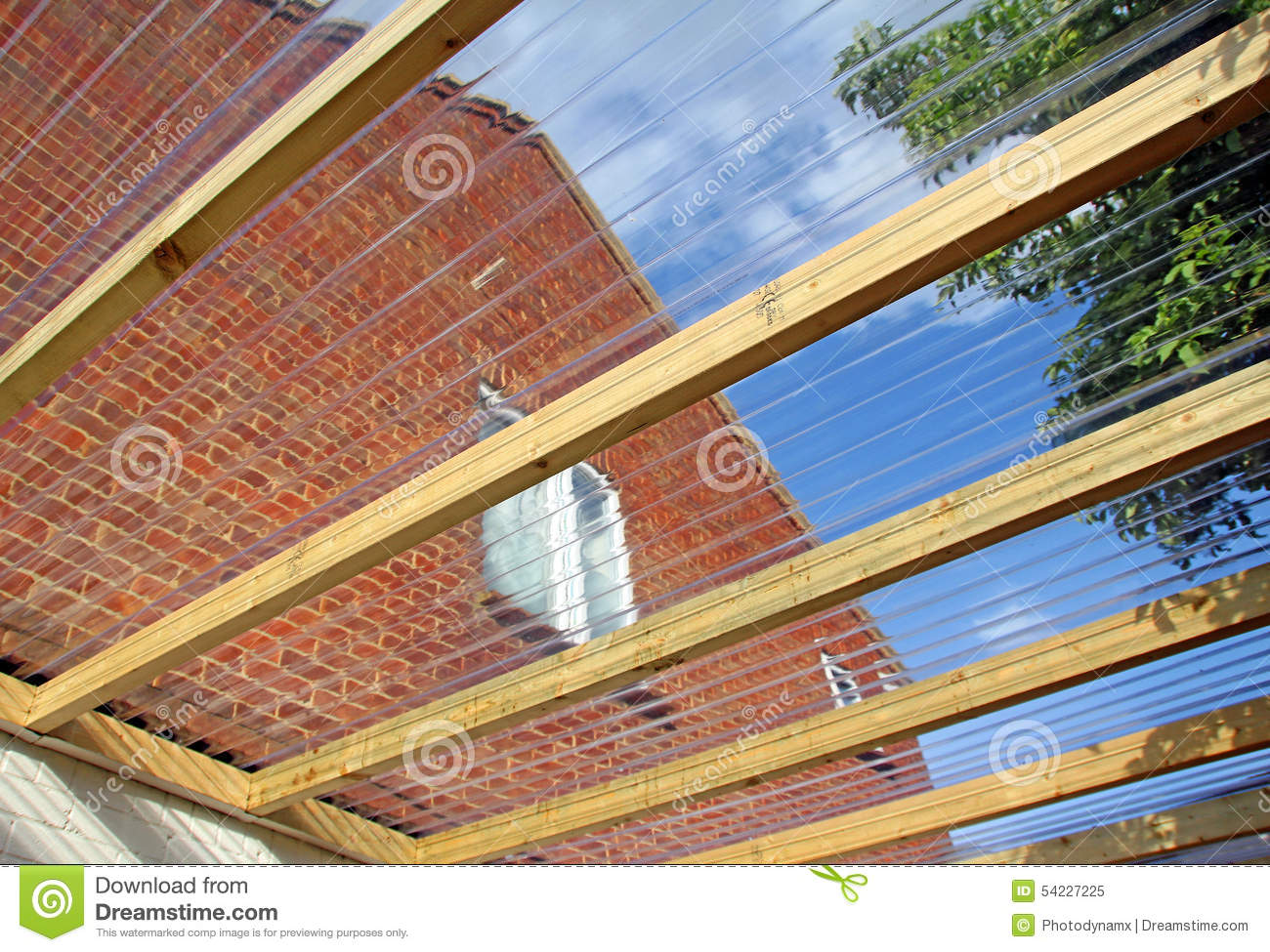 Carports Polycarbonate Roof Panels Clear Corrugated Plastic