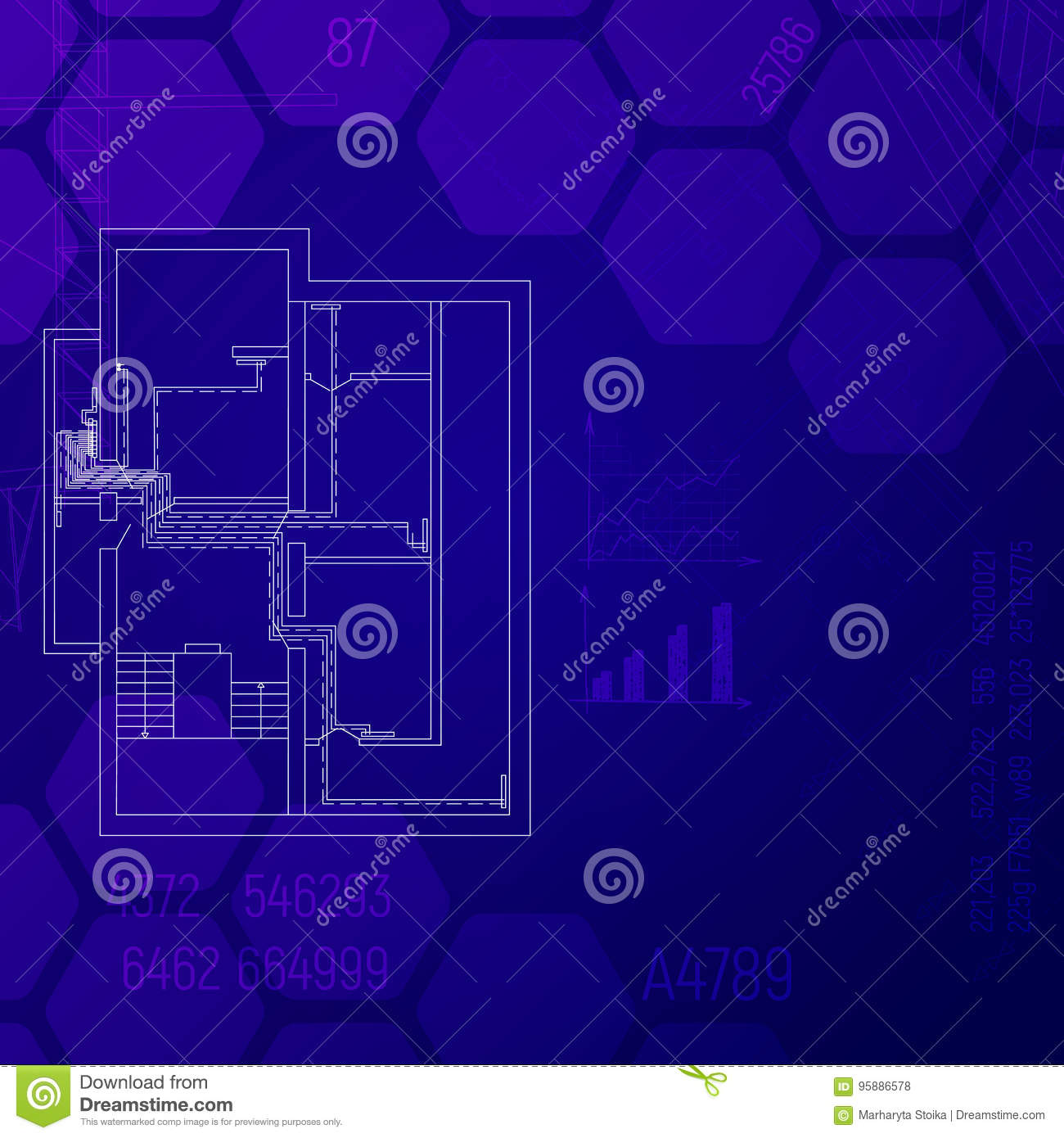 hight resolution of blue print with a heating system hvac engineering graphics cad