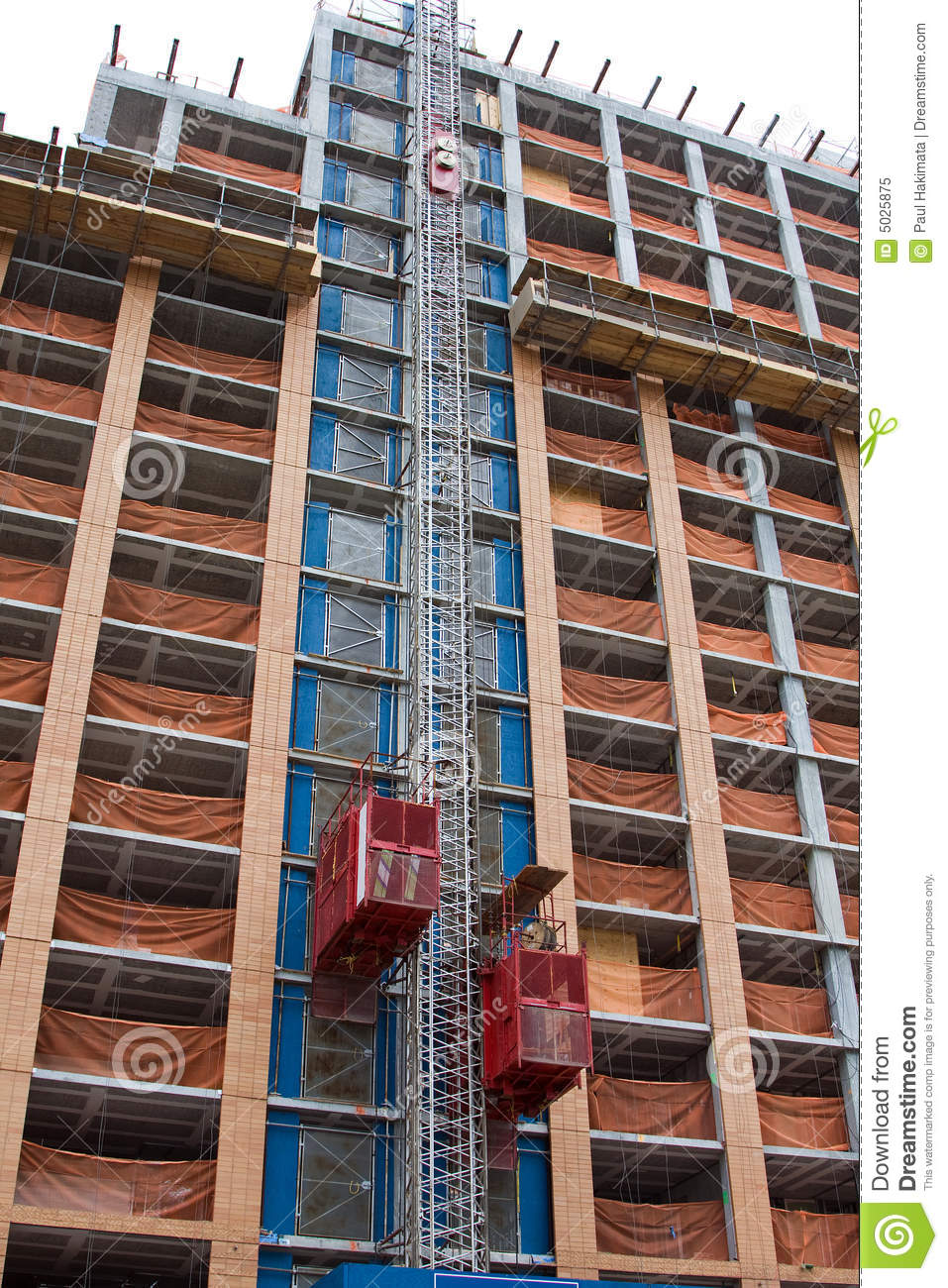 Construction Elevators Royalty Free Stock Photo Image