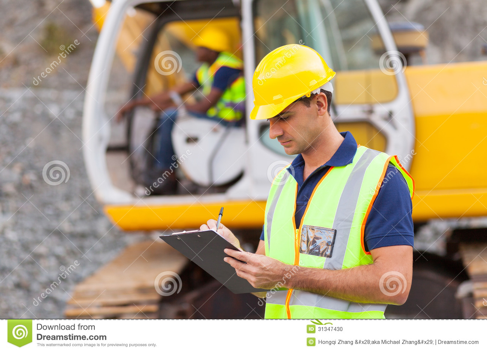 Construction Manager Stock Photo  Image 31347430