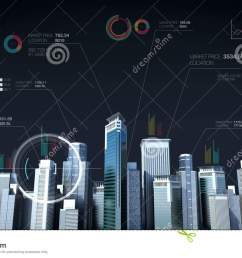 building city skyline and make city with economic chart diagram stock footage video of blue finance 80133124 [ 1300 x 821 Pixel ]