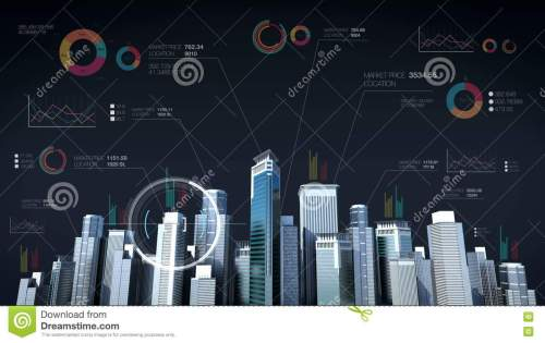 small resolution of building city skyline and make city with economic chart diagram stock footage video of blue finance 80133124