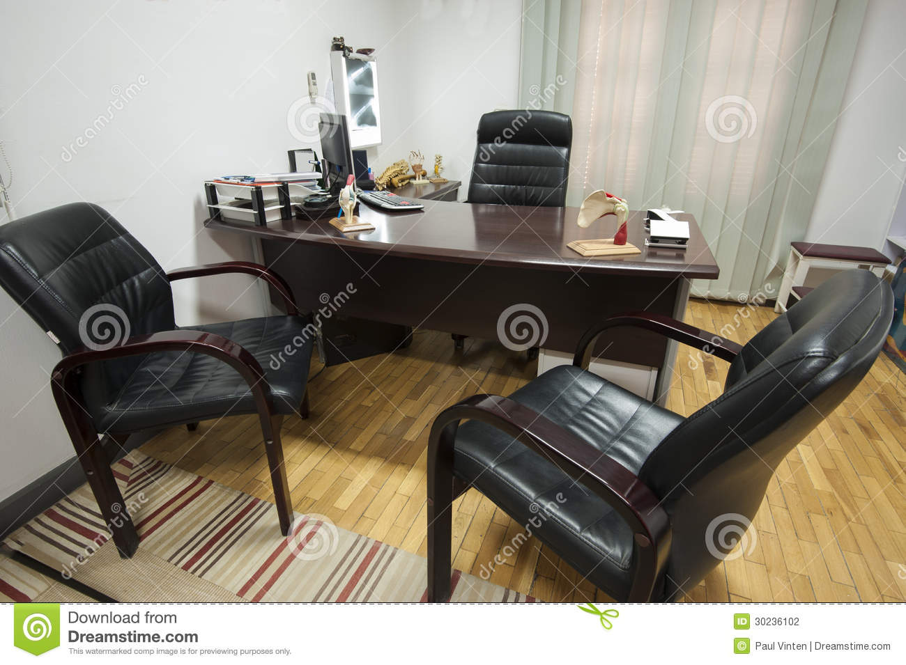 office chairs unlimited chair design for doctors consultation room stock photography - image: 30236102