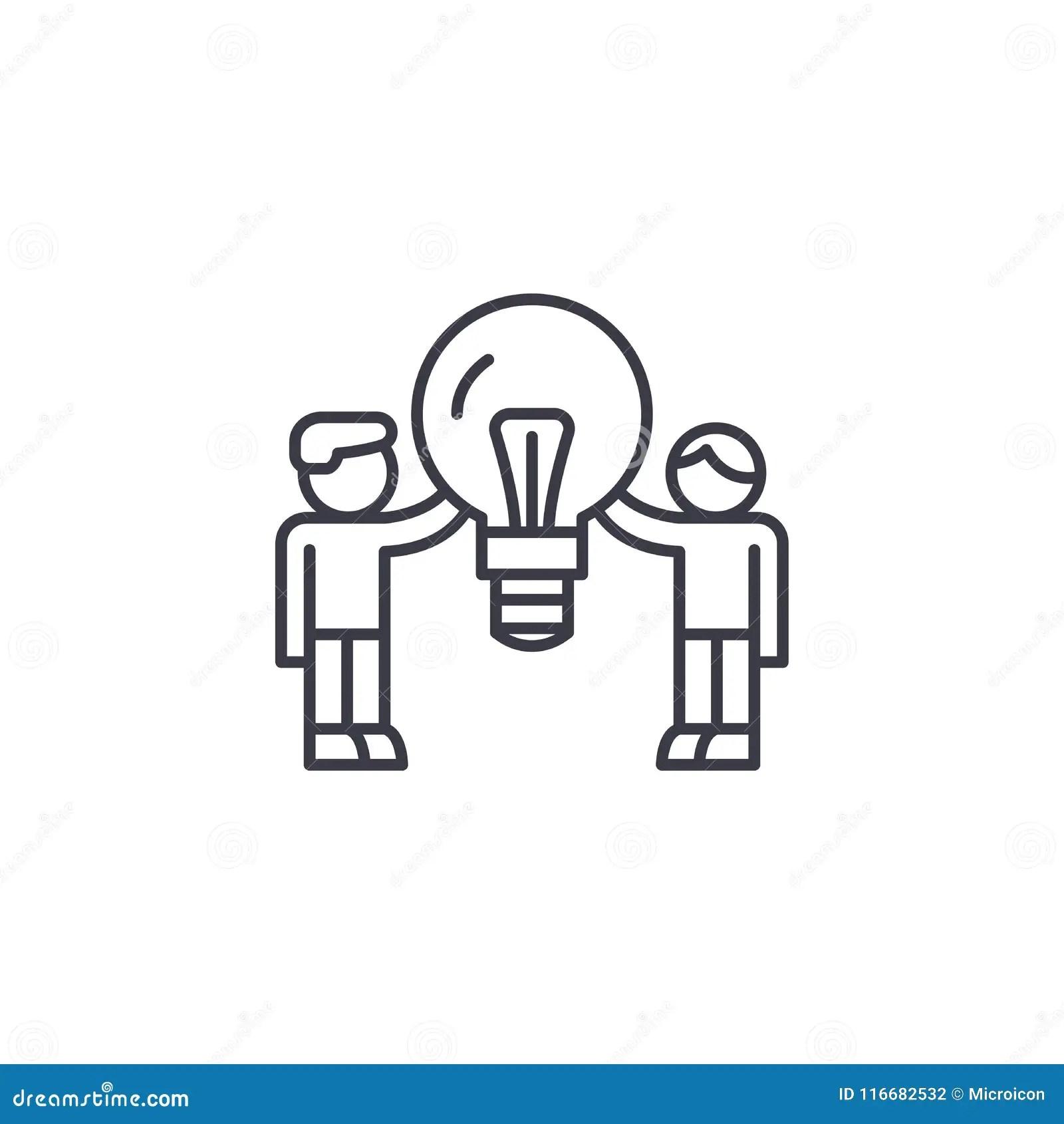 Consumer Demand Linear Icon Concept Consumer Demand Line