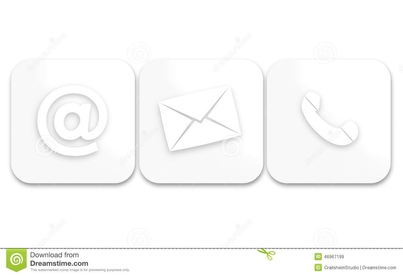 Contact Us Stock Illustration Illustration Of Customer