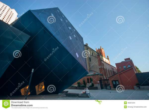 Contemporary Jewish Museum Building Editorial Stock