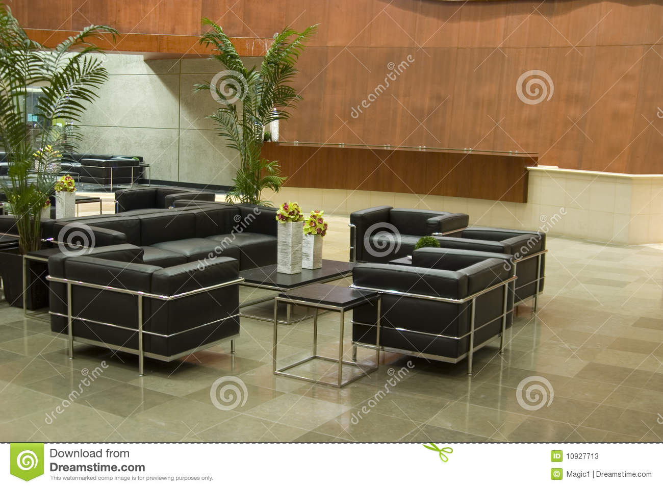 office lobby chairs a chair in room contemporary stock photos image 10927713
