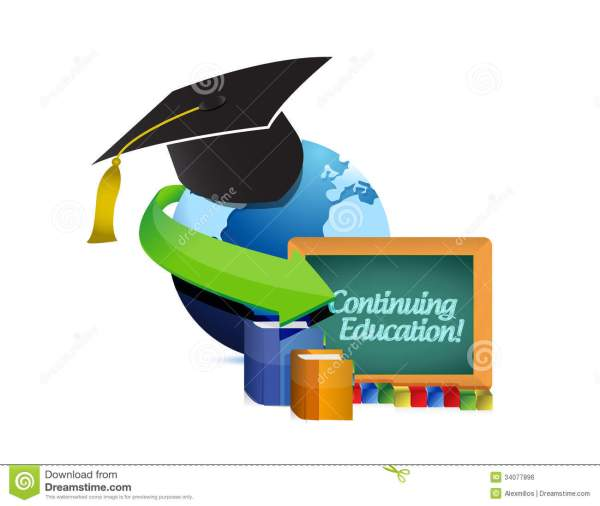 Continuing Education Concept Illustration Stock