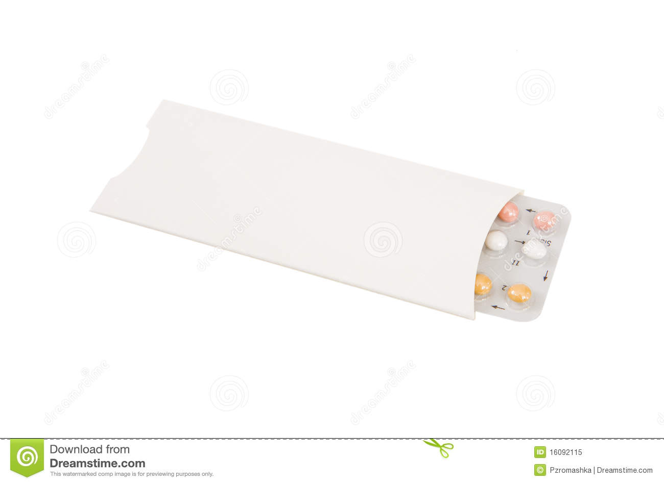 Contraception Pill Stock Image Image Of Pack Medicine