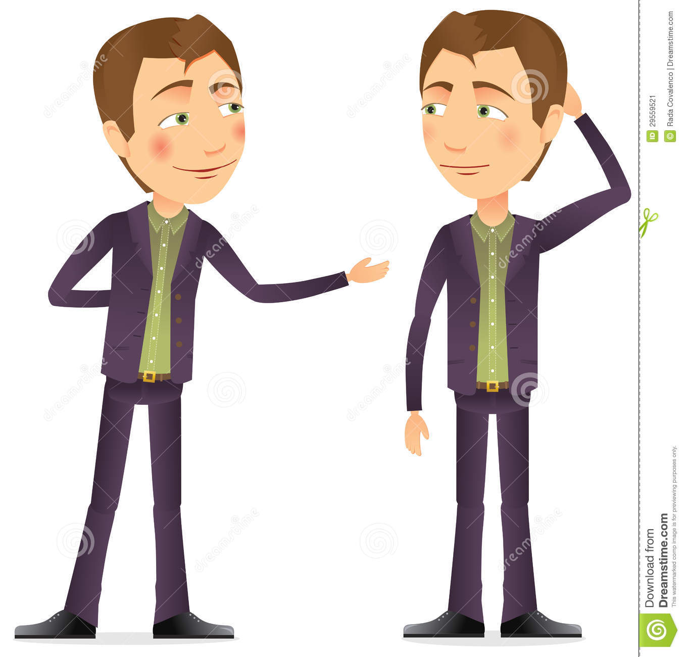 A Conversation Between Two Men Stock Image - Image: 29559521