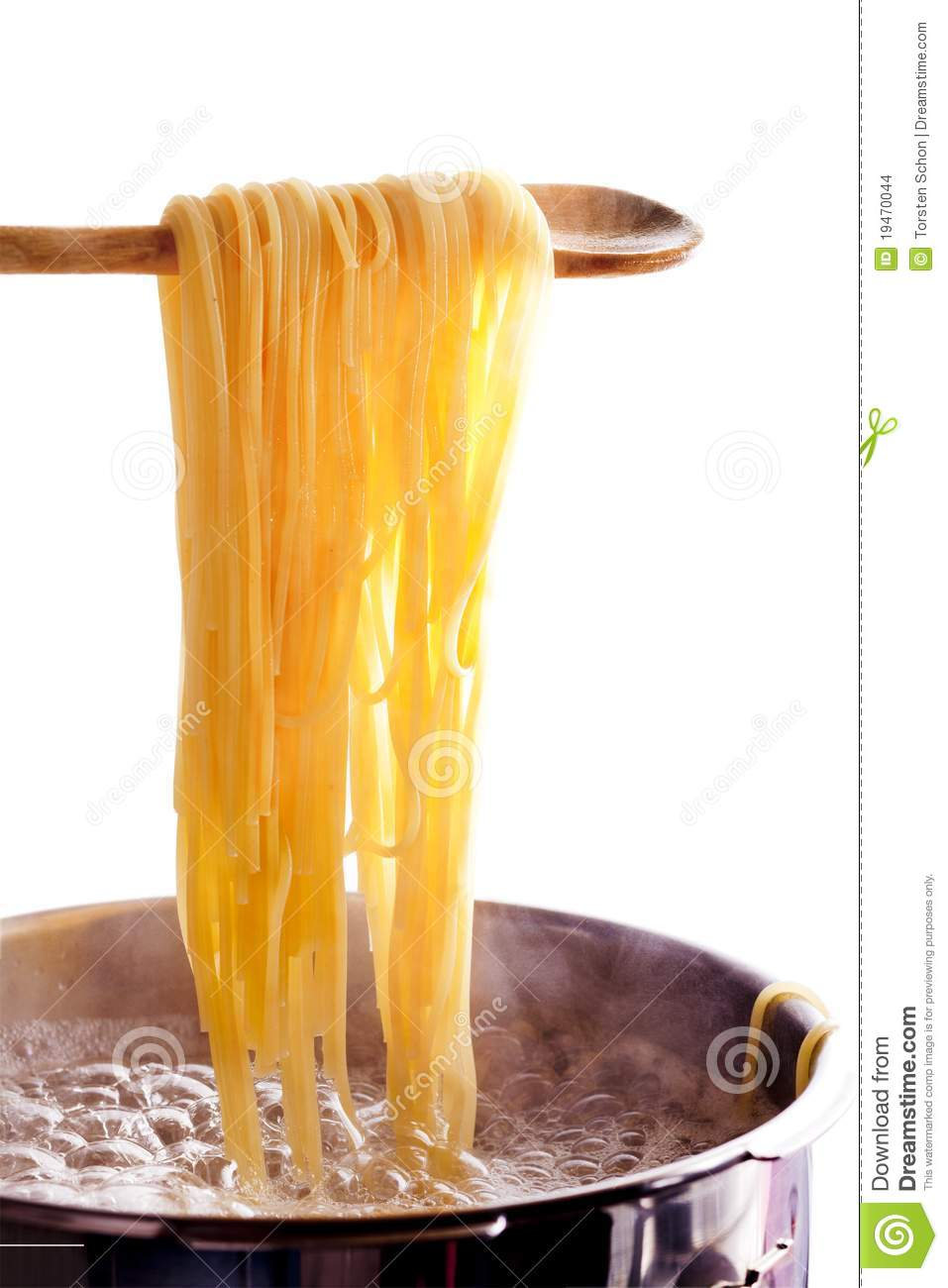 kitchen spoon tall table cooking spaghetti stock photo. image of boiled, wooden ...
